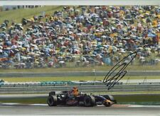 David Coulthard Red Bull RB3 F1 Season 2007 Signed Photograph 2