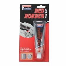 Granville Red Rubber Grease Tube Lubricant 70g Brake Caliper Piston Grease