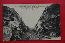 Maupertus 50330 (Manche) chemin de fer Basse-Normandie  France carte postale