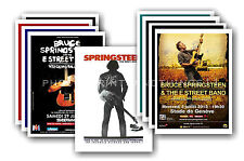 BRUCE SPRINGSTEEN  - 10 promotional posters - collectable postcard set # 1