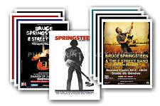 bruce springsteen - 10 Promotion Poster - sammelbar postkarte Set # 1