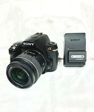 Barley Used Sony Alpha a390 14.2MP Digital SLR Camera - 18-55mm Lens