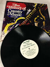 "The History Of Country Music Volume 1 [vinyl - 12""] lee cash"