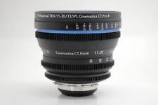 Cinematics Cine lens Tokina 11-20mm f2.8 T3.1 PL for RED EPIC SCARLET SONY FS7