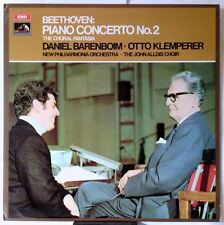 Beethoven Piano Concerto - Klemperer (ASD 2608)  by Daniel Barenboim