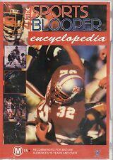 The Sports Blooper Encyclopedia DVD REGION FREE - BRAND NEW SEALED - FREE POST!
