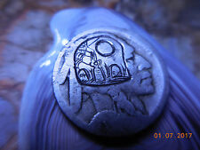 19xx Hobo Nickel Graveyard Indian Head Buffalo Gravestones