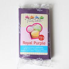 Pasta di zucchero colorata funcakes 250 Gr. - COLORE VIOLA OFFERTA!