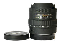 Tokina 10-17mm AT-X DX AF Lens for Canon - Super Condition!