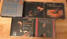 Classical Guitar 5 CD LOT- John Williams, Andrés Segovia, Carlos Montoya ETC