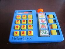 Fisher Price Fun with Food replacement Scan Market Grocery Store calculator list