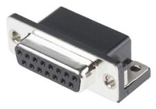 MH Connectors MHDD Series, 15 Way Right Angle PCB D-sub Connector Socket, 2.77mm