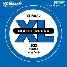 D?ADDARIO XLB032 CORDA SINGOLA BASSO XL NICKEL WOUND