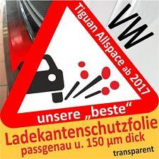 VW Tiguan Allspace Lackschutzfolie Ladekantenschutz Folie Auto Schutzfolie