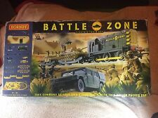 hornby battle zone train set
