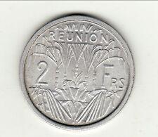REUNION 2 FRANCS ALU 1948UNC