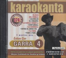 Los Tigres Del Norte Garra 4 Karaoke New Nuevo SEALED