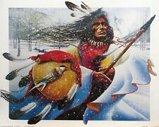Traditional Native American Hunter and Gatherer 16x20 Poster