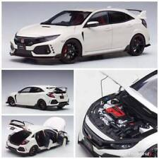 HONDA CIVIC TYPE R (FK8) Championship White AUTOart MODEL 1/18 #73266