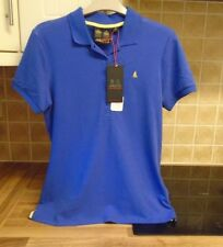 New Musto Jessica Pique Polo Top UK 10 RRP £49.99 Dazzling Blue