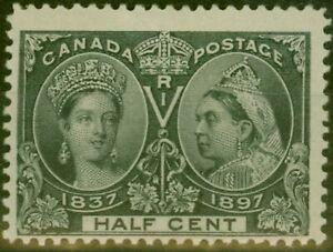 Canada 1897 1/2c Black SG121 Fine Mtd Mint