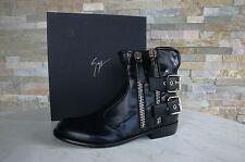 Luxe GIUSEPPE ZANOTTI T 41 Bottines Booties chaussures shoes black NEUF Prix Recommandé 976 €