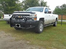 New Ranch Style Front Bumper 15 16 17 18 19 Chevy 2500 3500 Frontier Gear Xtreme