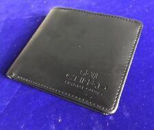 Vintage Ethiad aerolínea avión Caballeros Negro ID titular de la tarjeta de crédito cartera A36