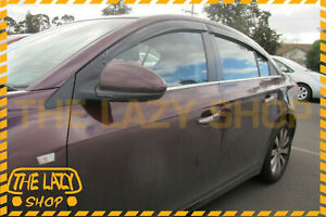 Weathershields Weather Shields for Holden Cruze sedan 09-16 Window Visors