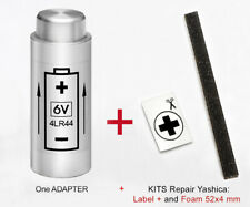 YASHICA Electro 35 G, GT, GL, GS, GSN ,GTN , MG-1, Ax: ADAPTATEUR Batterie + Kit