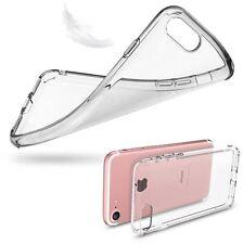 ULTRAFINA TRANSPARENTE carcasa compatib iPhone 7 FLEXIBLE Y DELGADA silicona tpu