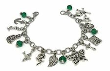 Harry Styles Tattoo inspired Charm Bracelet - One direction themed Jewelry