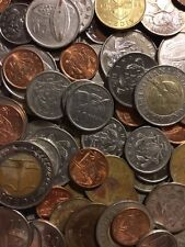 100 Gramm Restmünzen/Umlaufmünzen Ghana