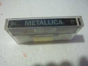 METALLICA CASSETTE ALBUM
