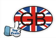 Auto Pkw Kfz Aufkleber Sticker GB English England Great Britan Länderkennzeichen