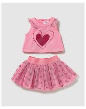 Robes roses en polyester pour fille de 4 à 5 ans