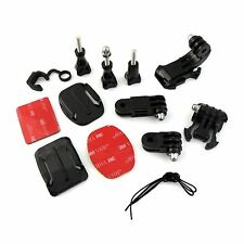 Grab Bag of Mounts Kit For GoPro Hero 3 3+ 4 5 6 Go Pro HD Camera Accessories