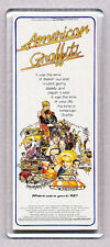 AMERICAN GRAFFITI -  WIDE FRIDGE MAGNET - George Lucas CLASSIC!