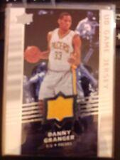 2008-09 Upper Deck UD Game Jersey Danny Granger Mint Card