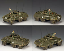 "King and Country ""US M20 BLINDATO"" WW2 DD225"