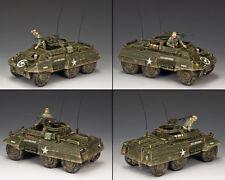 "King and country ""Nosotros"" automóvil blindado M20 Segunda Guerra Mundial DD225"