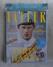 TATLER Magazine,PRINCE Harry,Kim Kardashian,The Grimaldis FREE SPA Guide SEALED