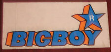 "Adesivi Anni ' 80 "" BIGBOY """