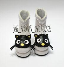 Defects Lovely Black Cat Boots fits BJD Volks Yosd Leeke AI Unoa 1/6 BJD