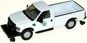 HO RIVER POINT STATION Ford F-350 BNSF Hi-Rail : 1/87 scale Model MOW Truck