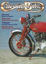 Velocette MAC Harley Racer Vincent Touring Rapide FN M86 Wilkinson TMC Daytona