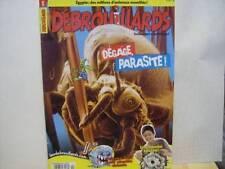 Lot of 3 Les Debrouillards Et 1 Debrouillarts French 2010 Magazines (4 In Total)