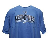 Memphis Grizzlies NBA Majestic Sky Blue T-Shirt w/ Team Logo, Big & Tall, nwt