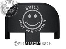 Rear Slide Plate for Smith Wesson S&W SD9 SD40 VE 9mm 40 BK Smile Wait Flash 5