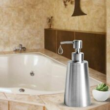 350ml Soap Dispenser Pump Bathroom Kitchen  Stainless Steel Lotion Liquid Bottle